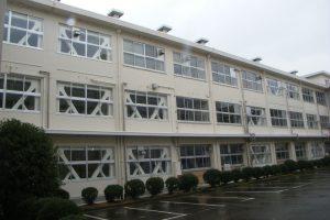 若狭高校管理特別普通教棟耐震補強建築工事